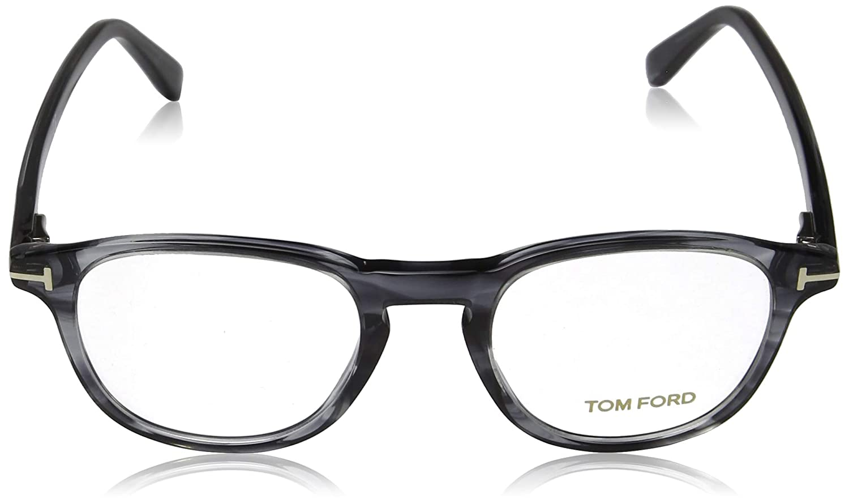 Tom Ford FT5389 Monturas de Gafas, Gris (Grigio/Altro), 48.0 ...