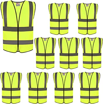 EKIND Adjustable Elastic Lightweight High Visibility Reflective Safety Gear for Running Walking Jogging,Cycling,Motorcycle