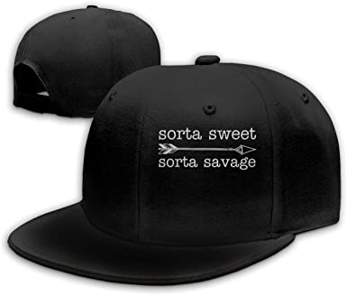 Sorta Sweet Sorta Savage-3 Men Classic Hip Hop Baseball Cap 100/% Cotton Unisex Soft Adjustable Size