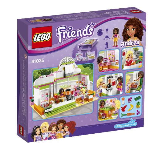Amazon.com: LEGO Friends 41035 Heartlake Juice Bar: Toys & Games