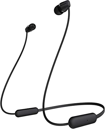 Sony Wi C200 Wireless In Ear Headphones With 15 Hours Amazon In Electronics