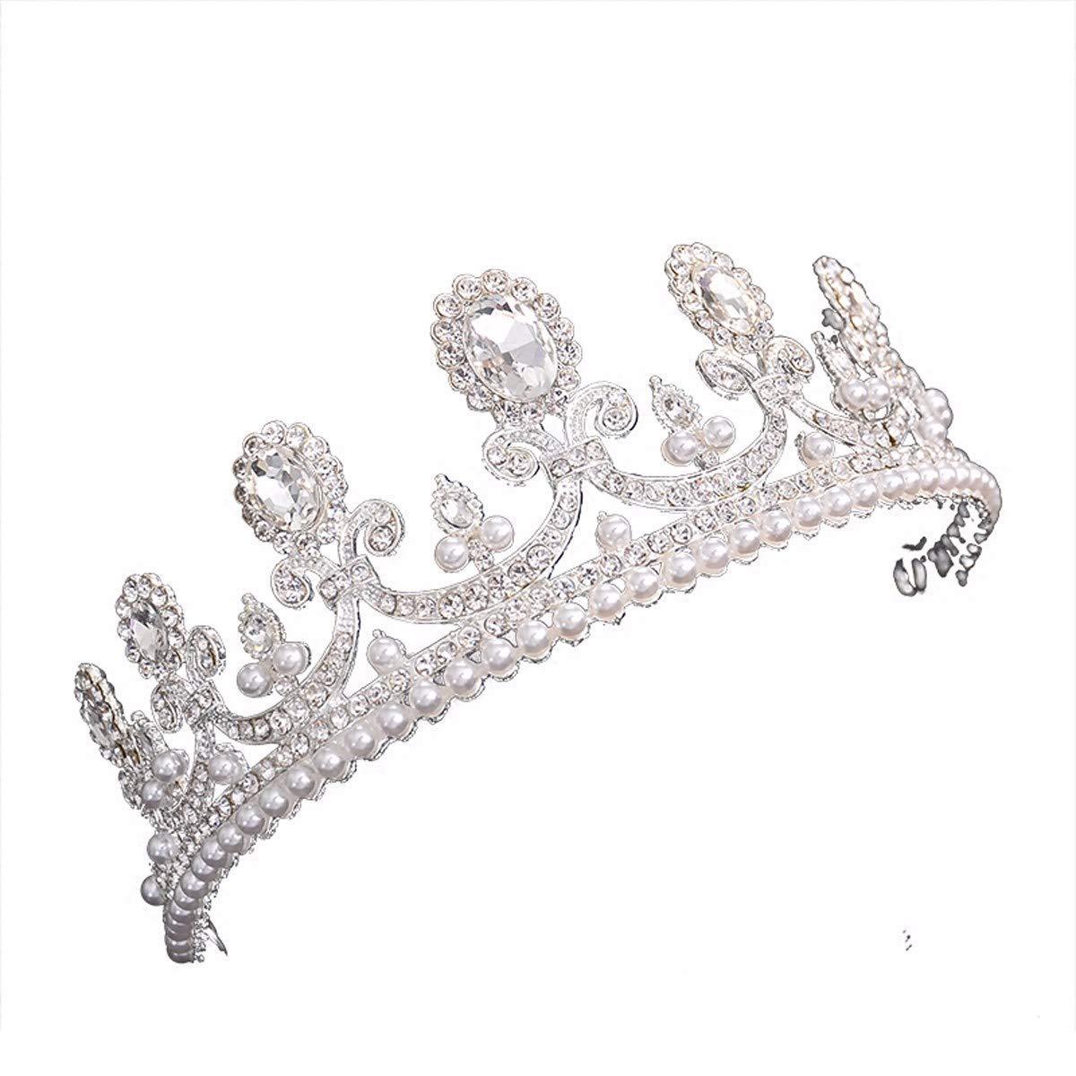 Wedding Crown, Beautiful headdress/Wedding Crown Bridal Headwear Princess Crown Accessories Adult Wedding Accessories.