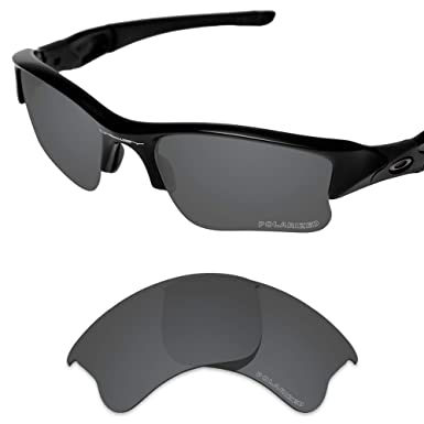 f4b828185f673 Tintart Performance Lenses Compatible with Oakley Flak Jacket XLJ Polarized  Etched-Carbon Black