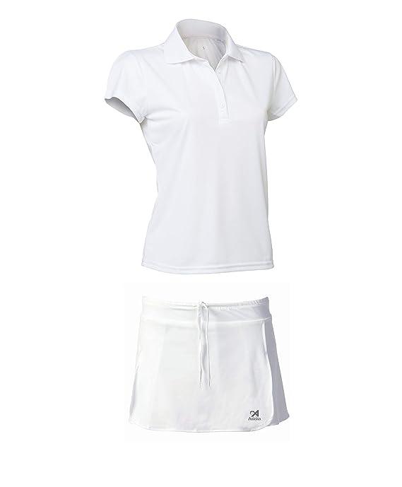 ASIOKA 97/13-102/14 Pack Falda Pantalón + Polo M/Corta de Tenis ...