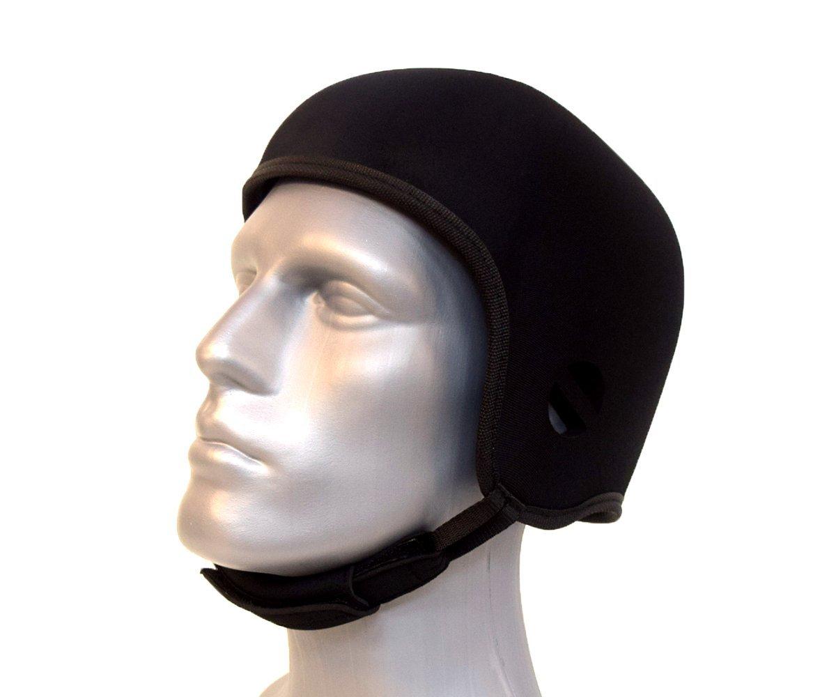 Opti-Cool Headgear Soft Protective Helmet (Medium 22-23.25 inches, Black)