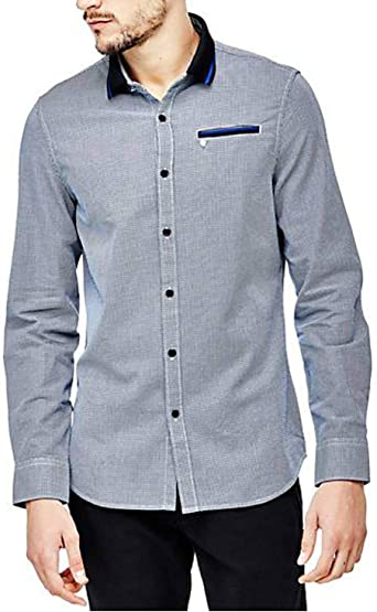 Guess - Camisa de colores a contraste gris L: Amazon.es: Ropa ...