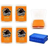 Auto Klei Bars Detailing kit 4 Pack 400g voor Reiniging Auto Glas, Voorruit, Pools Venster met Micro Fiber Handdoek