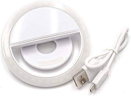 Vhbw Selfie Licht Weiß 36 Leds 3 Helligkeitsstufen Elektronik