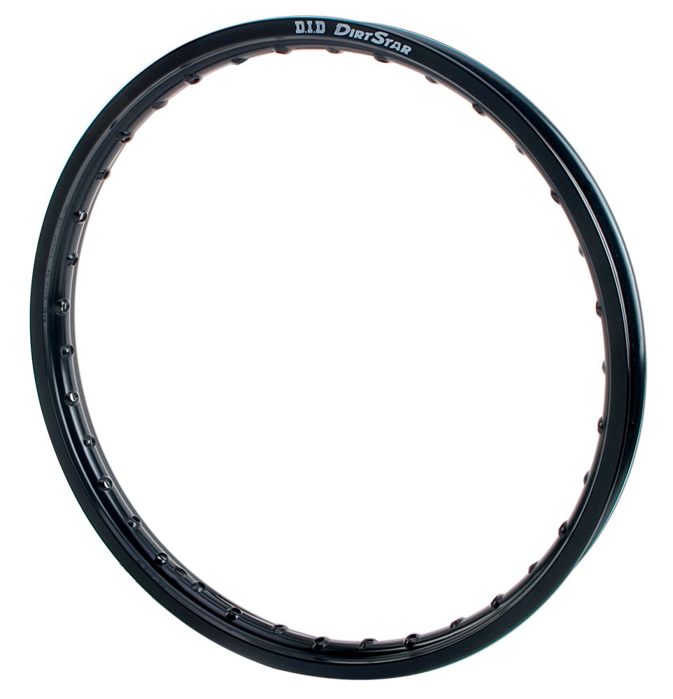 D.I.D (18X215VB01S) DirtStar Black 18'' x 2.15'' Original Rear Rim