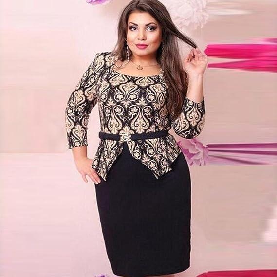 b6b33912446 Amazon.com  Usstore Women Dresses Bodycon Sheath Party Summer Print Dress  for Women  Sports   Outdoors