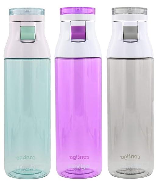 Contigo Jackson Botella de agua reutilizable – sin BPA, fácil de ...
