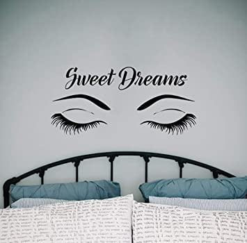 Amazoncom Wall Decals Quotes Sweet Dreams Quote Decal Wall Vinyl