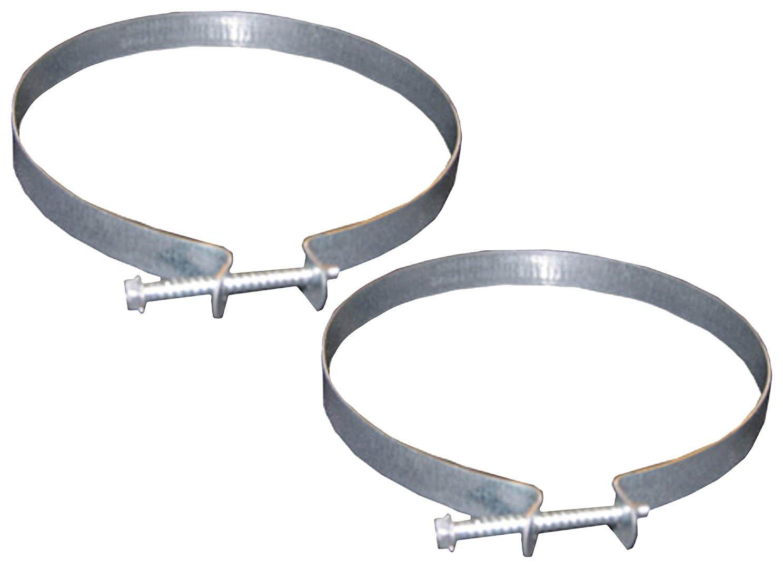 LASCO 10-1843 4-Inch Dryer Vent Clamps