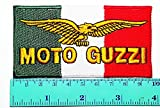 Moto Guzzi Patch Motorbike Motorsport Motorcycles Biker Racing Logo Patch Sew Iron on Jacket Cap Vest Badge Sign