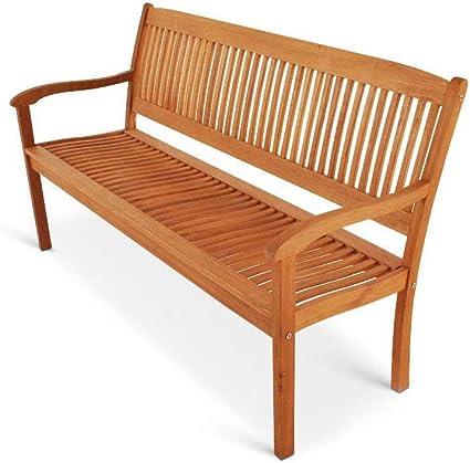 Amazon De Sam Gartenbank 157 Cm Maracaibo Aus Akazienholz Geolt Fsc 100 Zertifiziert 3 Sitzer Gartenmobel