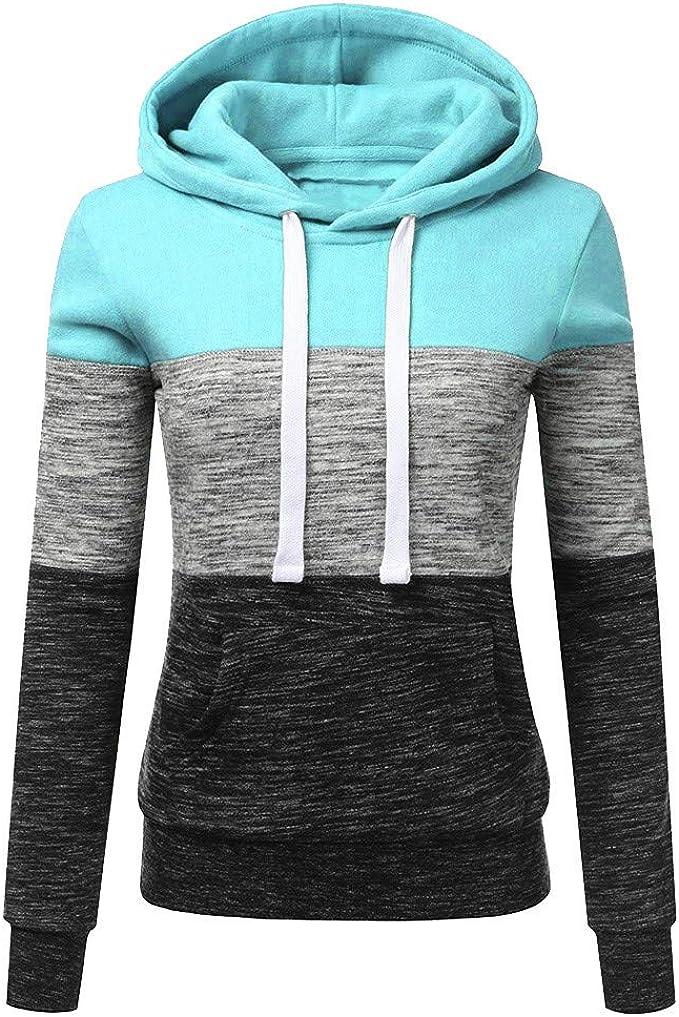Lolittas_Sweatshirt Sweat à CapucheLolittas Rose, Bleu, Noir Mode Femmes Chaud Moelleux Sweat À Capuche Hiver Casual Blouse Pullover Tops