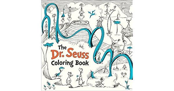 The Dr. Seuss Coloring Book: Dr Seuss: Amazon.com.mx: Libros