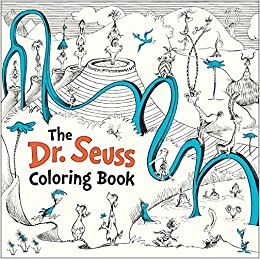 The Dr Seuss Coloring Book Dr Seuss 9781524715106 Amazon Com Books
