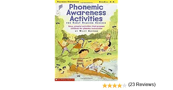 Amazon.com: Phonemic Awareness Activities for Early Reading ...