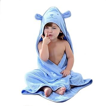 Super Dick und weich und saugf/ähig Bambus Bad Handt/ücher f/ür Neugeborene Jungen oder M/ädchen /& Kids Golden Rule Premium Kapuzen Baby Badetuch Waschlappen Rosa