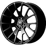 "Motegi Racing MR118 Matte Black Finish Wheel (17x8""/5x4.5"")"