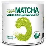 MATCHA DNA Certified Organic Matcha Green Tea Powder (16 oz TIN CAN)