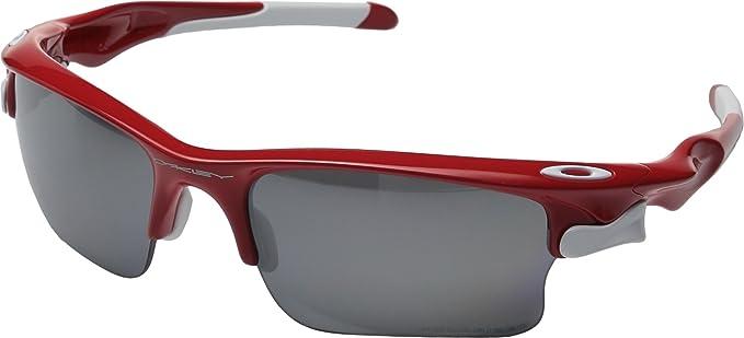 red and black oakleys  Amazon.com: Oakley Men\u0027s Fast Jacket XL Red w/ Black Iridium ...