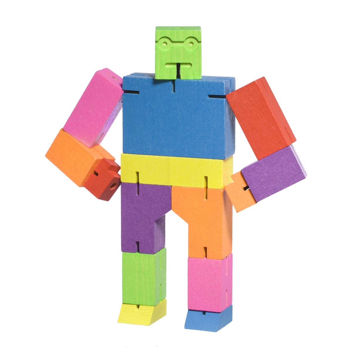 Areaware Medium Cubebot Multi Color Puzzle by Areaware