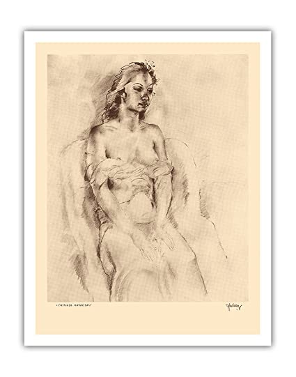 Naked nude etchings
