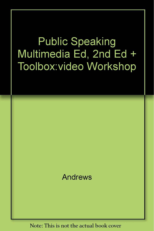 Download Public Speaking Multimedia Ed, 2nd Ed + Toolbox:video Workshop ebook