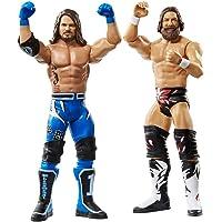 WWE - Pack 2 figuras de acción luchadores