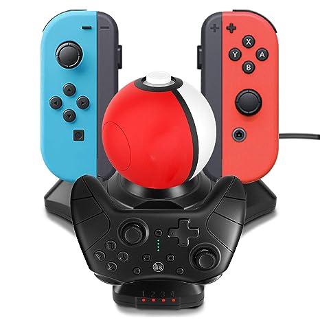 Amazon.com: DABAOZA Cargador rápido para Nintendo Pokeball ...