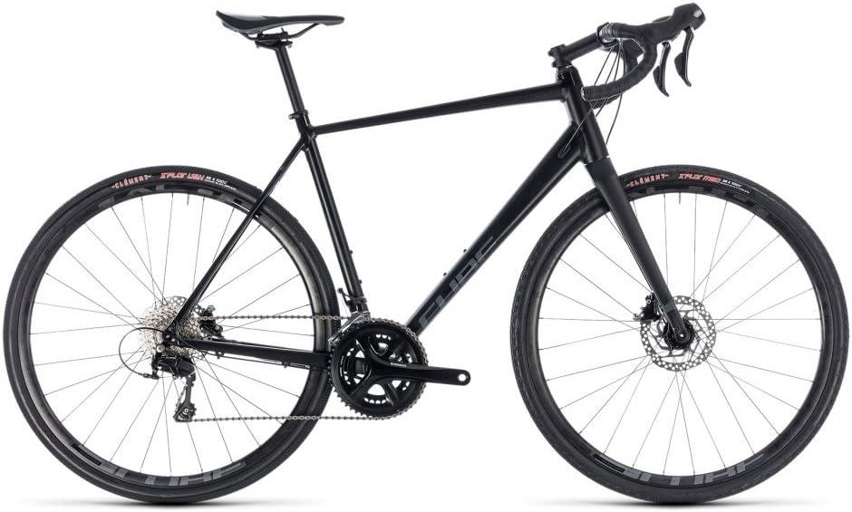 Gravel Bike Cube nuroad Pro Black n Grey 2018 – 50 cm: Amazon.es ...