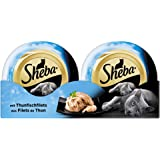 Sheba Katzenfutter Feine Filets / Saftige Filets ohne künstliche Farb- und Konservierungsstoffe