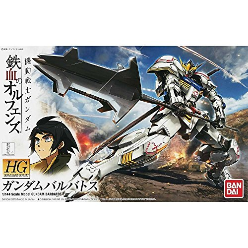 Bandai Hobby HG Orphans Gundam Barbatos Gundam Iron-Blooded Orphans Action