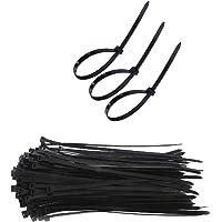 SECWELL 150st Kabelbinders Zwart 400 mm x 7,6 mm Nylon Cable Tie Wrap Zip voor Bundels Kabelbinderhouder Tape UV…
