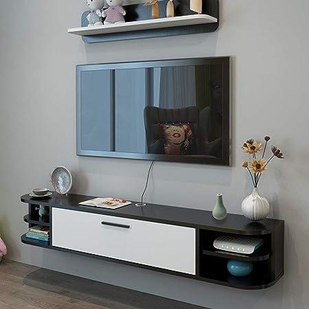 Estante Consola de audio / video Consola Estante de TV Soporte for TV Tablero Bastidor Estante for TV Consola de medios Consola de juegos Estantería for cajas de cable Enrutadores Remotos Reproductore: