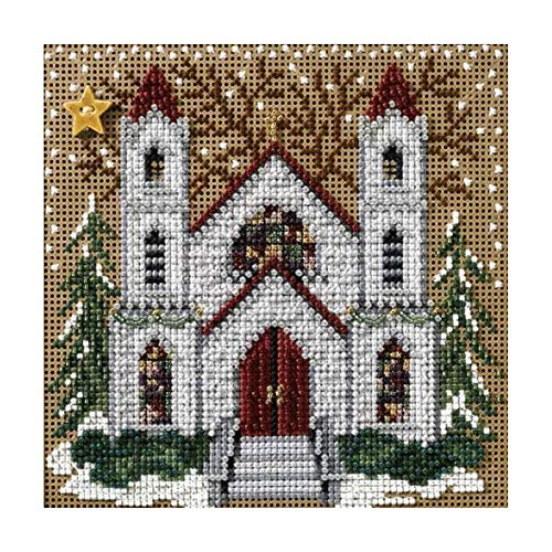 St Nicholas Cathedral Beaded Counted Cross Stitch Kit Mill Hill MH147305 Buttons & Beads 2007 Winter