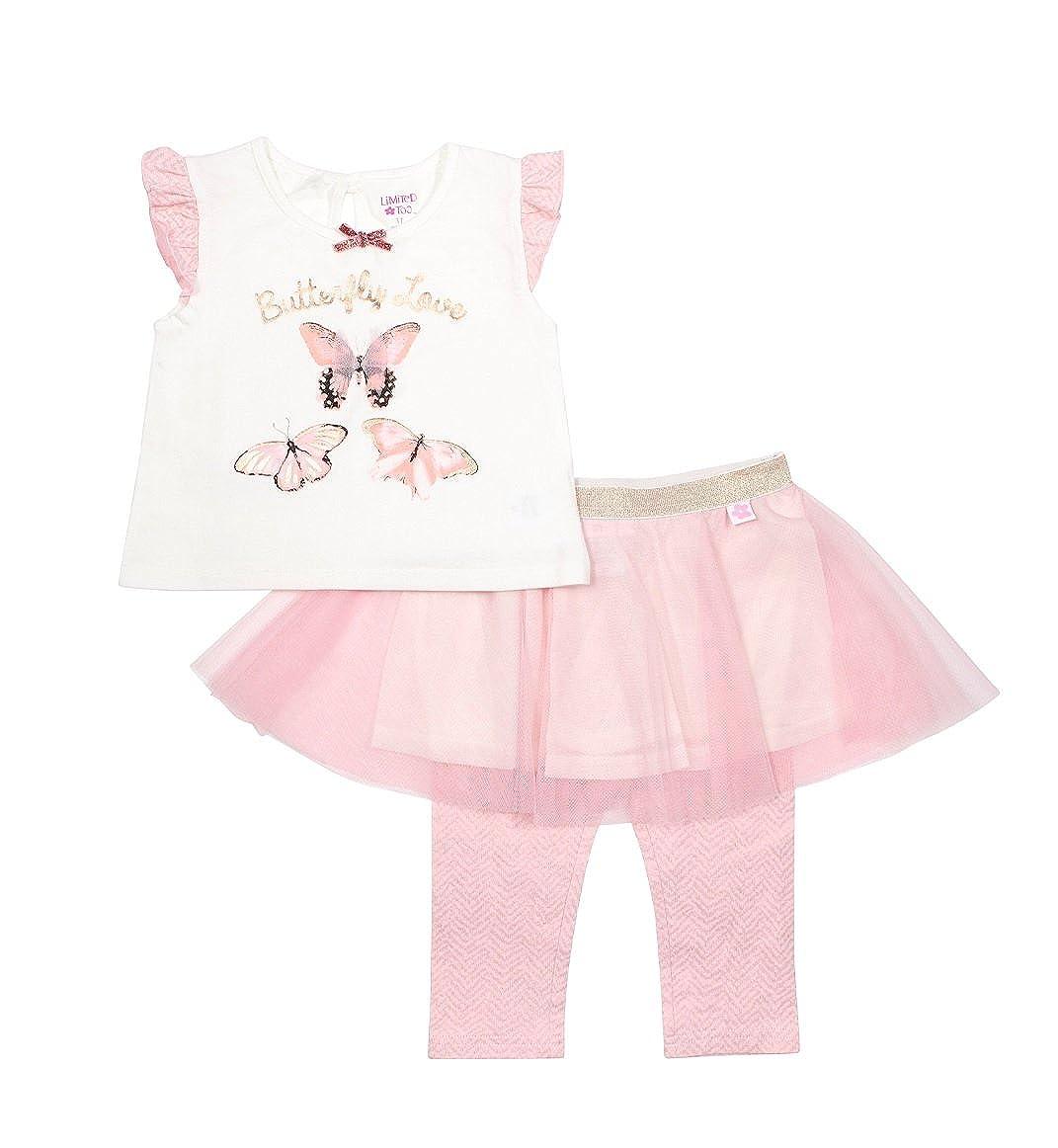 期間限定特別価格 Limited Love Too PANTS PANTS ベビーガールズ 4T White/Pink Butterfly Butterfly Love B072PRV7Y2, 電子タバコのはちみつ通り:3bd7b70f --- a0267596.xsph.ru