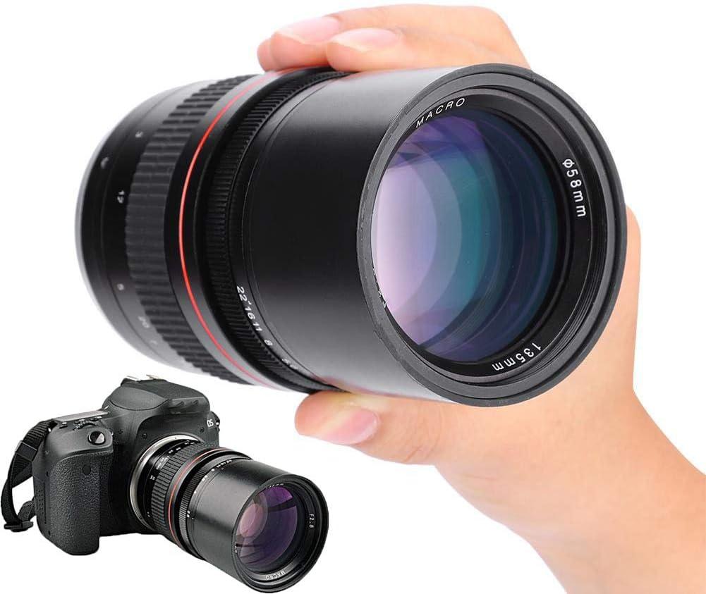 Topiky 135 Mm 1 2 8 Lens Dslr Full Frame Telephoto Elektronik