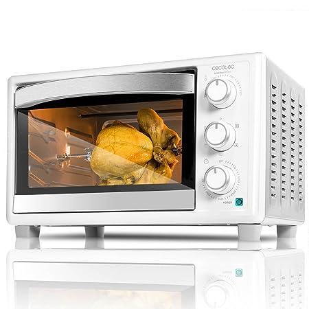 Cecotec Horno Conveccion Sobremesa Bake&Toast 690 Gyro. Capacidad de 30 litros, 1500 W, 5 Modos, Temperatura hasta 230ºC y Tiempo hasta 60 Minutos, ...