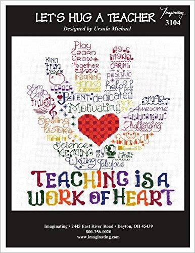 - Let's Hug a Teacher Cross Stitch Chart and Free Embellishment