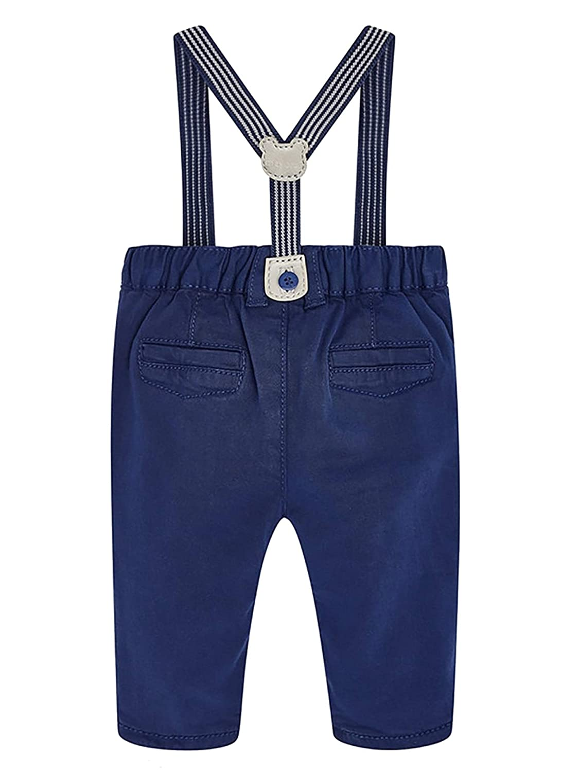 ab2f529c4 Amazon.com: Mayoral 18-02524-064 - Long Trousers with Suspenders for Baby- Boys 12 Months Atlantic: Clothing