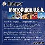 Garmin MetroGuide 2001 U.S.A. Street Map CD-ROM (Windows)