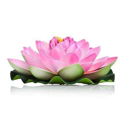 Flotante Flores Grandes Conjunto De 6 Color Rosa Flores Para