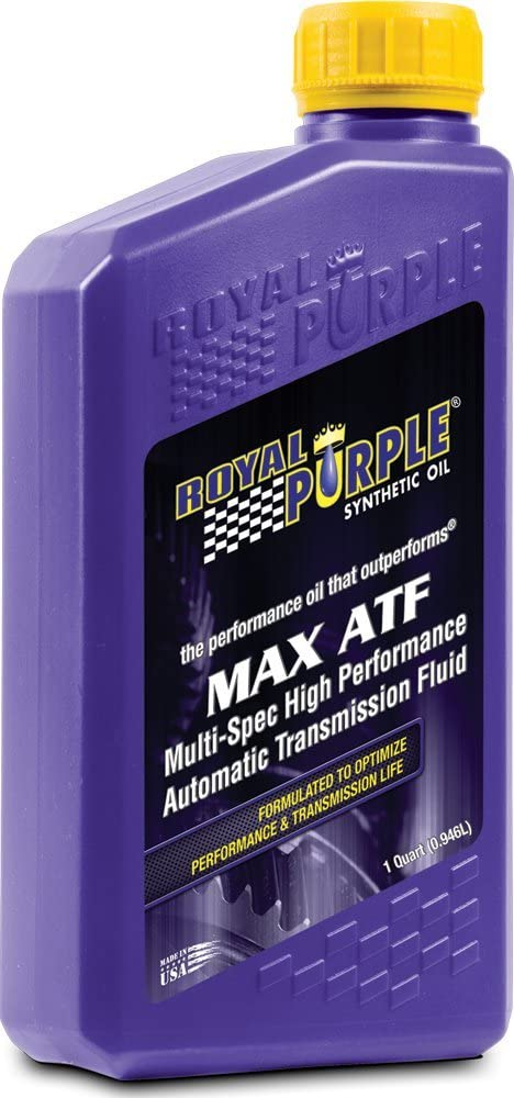 Royal Purple 12320 Max ATF High Performance Multi-Spec Synthetic Automatic Transmission Fluid - 1 qt. (Case of 12)