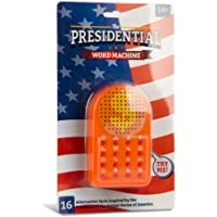 ZOFOX The Presidential Word Machine   This Machine Has the Best Words, Everybody Says So!   ¡16 Divertidas Frases Presidenciales que Podrás Utilizar en Fiestas, en la Oficina o en Cualquier Lugar!