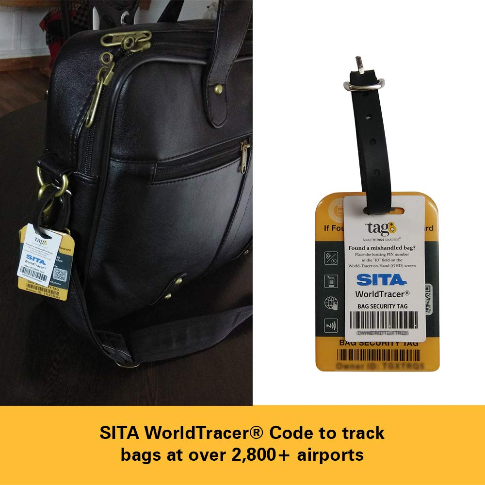 tag8 Airport Tracer Code Enabled Bag Security Tag