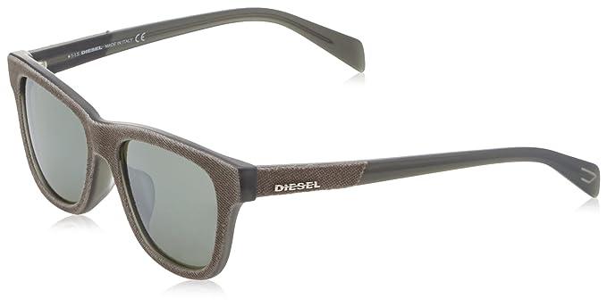 Diesel Wayfarer Eye, Gafas de Sol Unisex Adulto, (Marrone ...