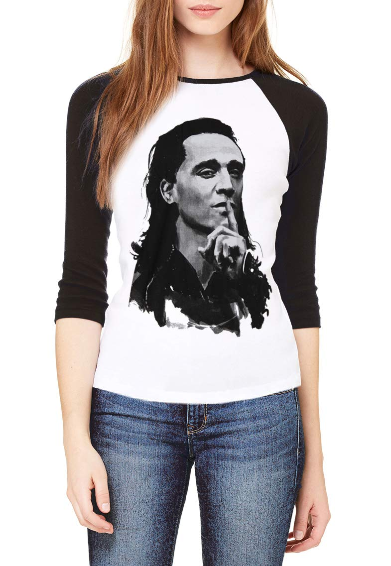 Loki Tom Hiddleston Film Movie Baseball Shirt